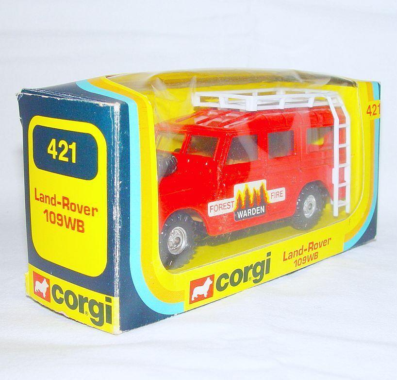 Corgi Corgi Corgi Toys 1 36 LAND ROVER LWB FORREST FIRE WARDEN Terrain Car MIB`79 VERY RARE  6989bb