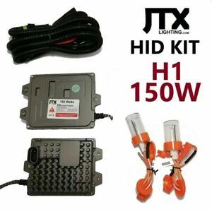 H1 JTX 12v-24v HID Kit 150W in 4300k 6000k 8000k or 10000k