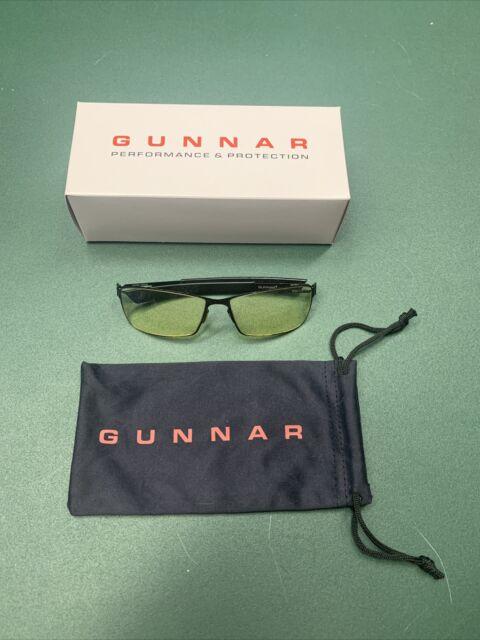 Gunnar Optics Onyx Frame Amber Lens Vayper Gaming Eyewear
