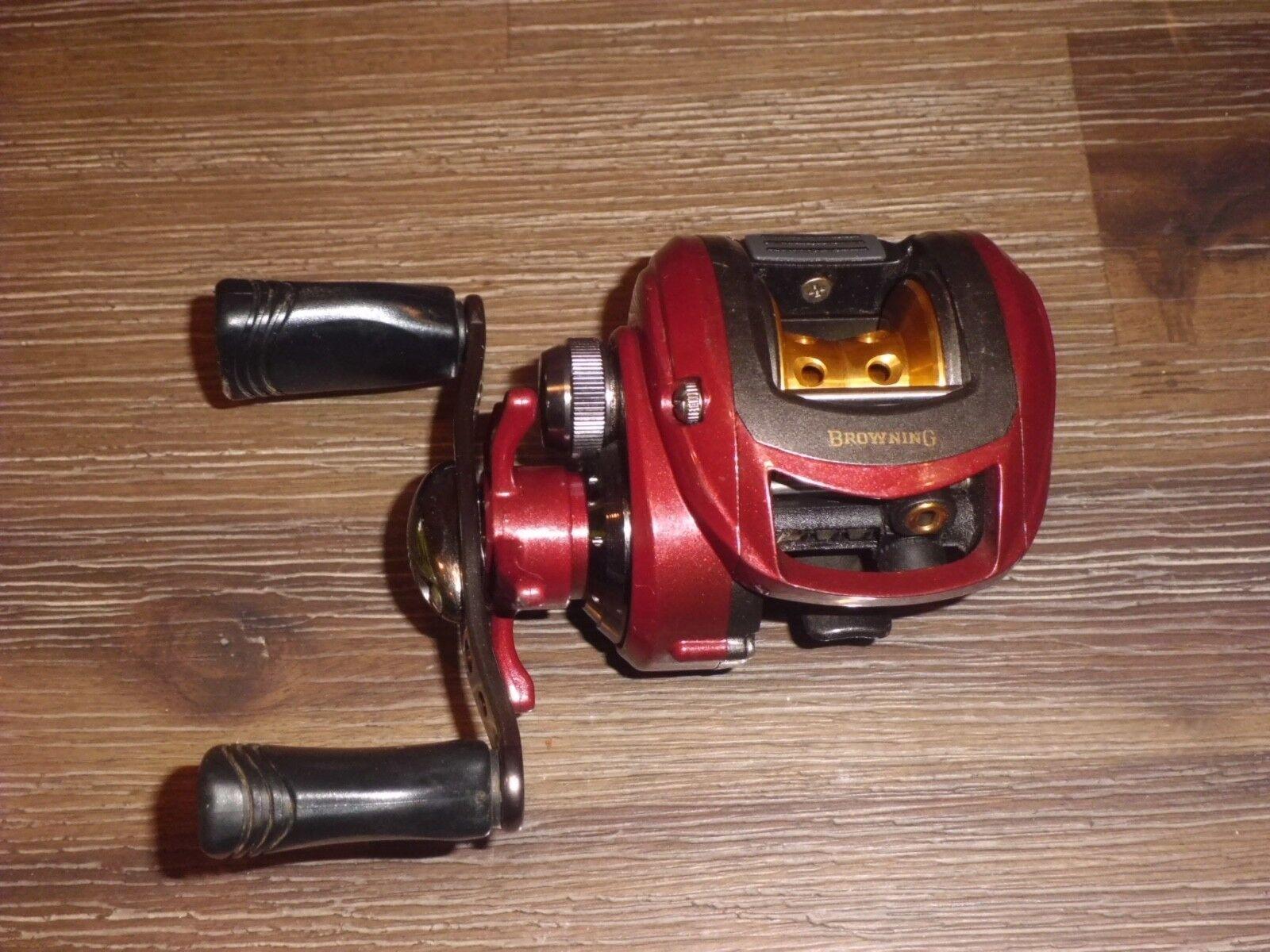 marróning M010HD Baitcasting Reel-relación de 6.4-1 - 6 rodamientos