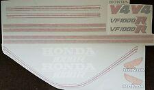 HONDA VF1000 VF1000R ROTHMANS MODEL FULL PAINTWORK DECAL KIT