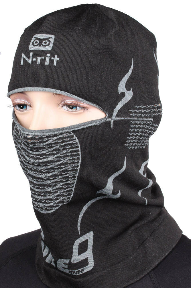 Balaclava Ski Face Mask N-rit Tube 9 Headwear - Assorted Design 2pcs 3pcs