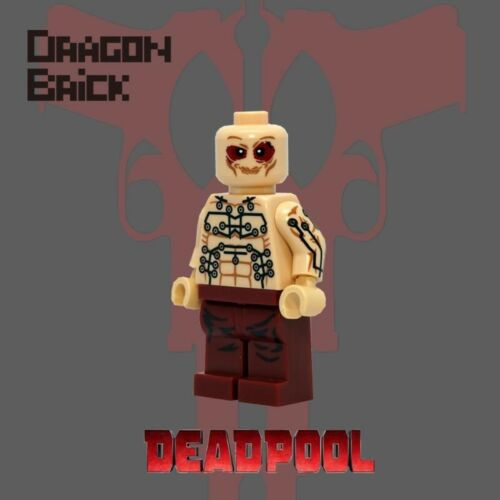 **New**DRAGON BRICK Custom Deadpool Lego Minifigure