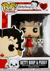 Funko Pop! Vinyl Figur KöStlich Betty Boop Betty Boop & Pudgy