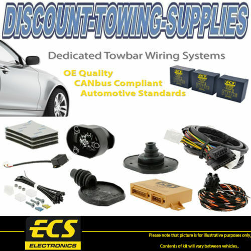 ECS 7 Pin Towbar Trailer Wiring Kit For BMW X3 SUV 2004 2010