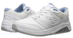New Balance Womens Comfort Walker shoes White bluee -WW928WB3 Choose Size NIB