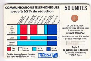 VARIETE-TELECARTE-CORDON-BLANC-50U-Ko58-6-N-IMP-895688-C-46