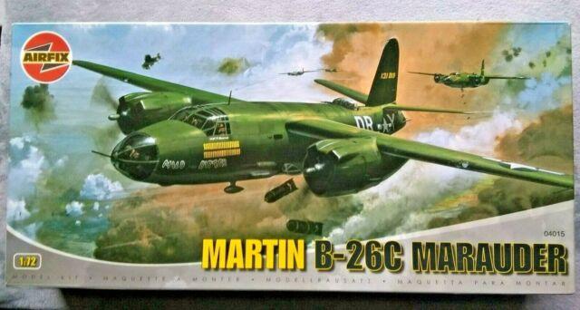Airfix Martin B-26B Marauder US Air Forces Flak Bait Modell-Bausatz 1:72 NEU kit