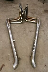 1968-73-CHEVROLET-CORVETTE-EXHAUST-MANIFOLD-HEADERS-PIPES-CHEVY-BIG-BLOCK