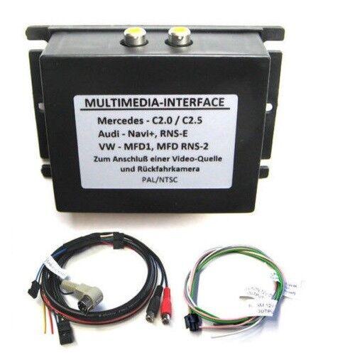 MERCEDES COMAND 2.5 Multimedia Interface Audio Video entrada rfk camara de vision trasera