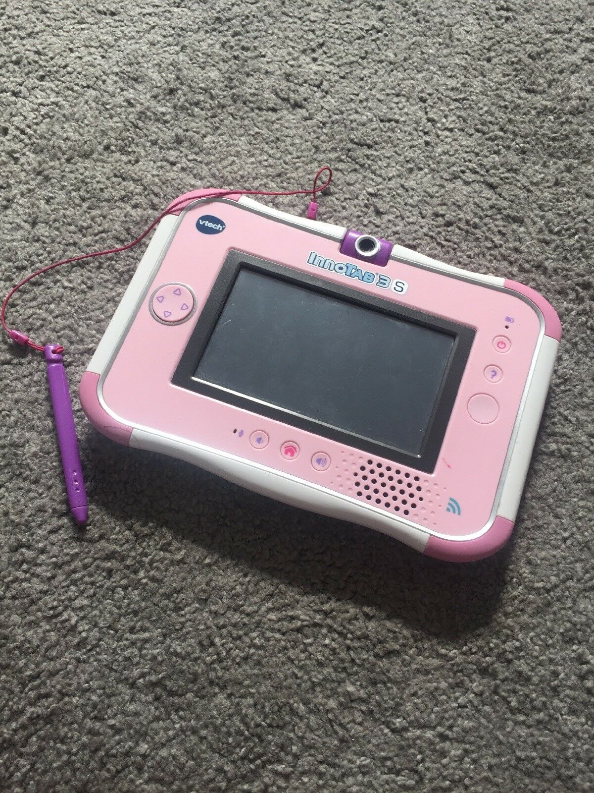 Pink Vtech Innotab 3S with Charger