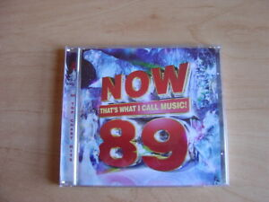 Various-Artists-Now-That-039-s-What-I-Call-Music-89-Original-Double-CD-2014