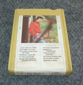1960s 4-Track Tape Cartridge TOM JONES It's Not Unusual Rare AMPEX PARROT X79401