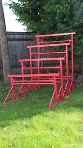 Builders Trestles - All Sizes - Trestle - Band Stands Painted 690Kg SWL/Pressur