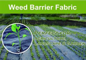 weed control barrier landscape fabric membrane ground cover uv resistant. Black Bedroom Furniture Sets. Home Design Ideas