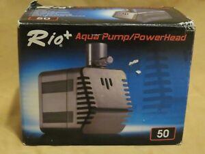 Amicable Brand New Rio 69 Gph 1' Max Head Plus Aqua Power Head Pump Rio Plus Mini 50