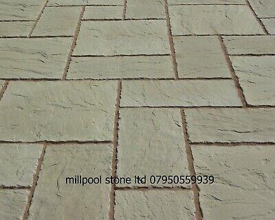 10sqm Buff Concrete Paving Patio Slabs