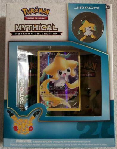 Jirachi Mythical Collection Pin Box Pokemon TCG Generations Packs 20 Anniversary