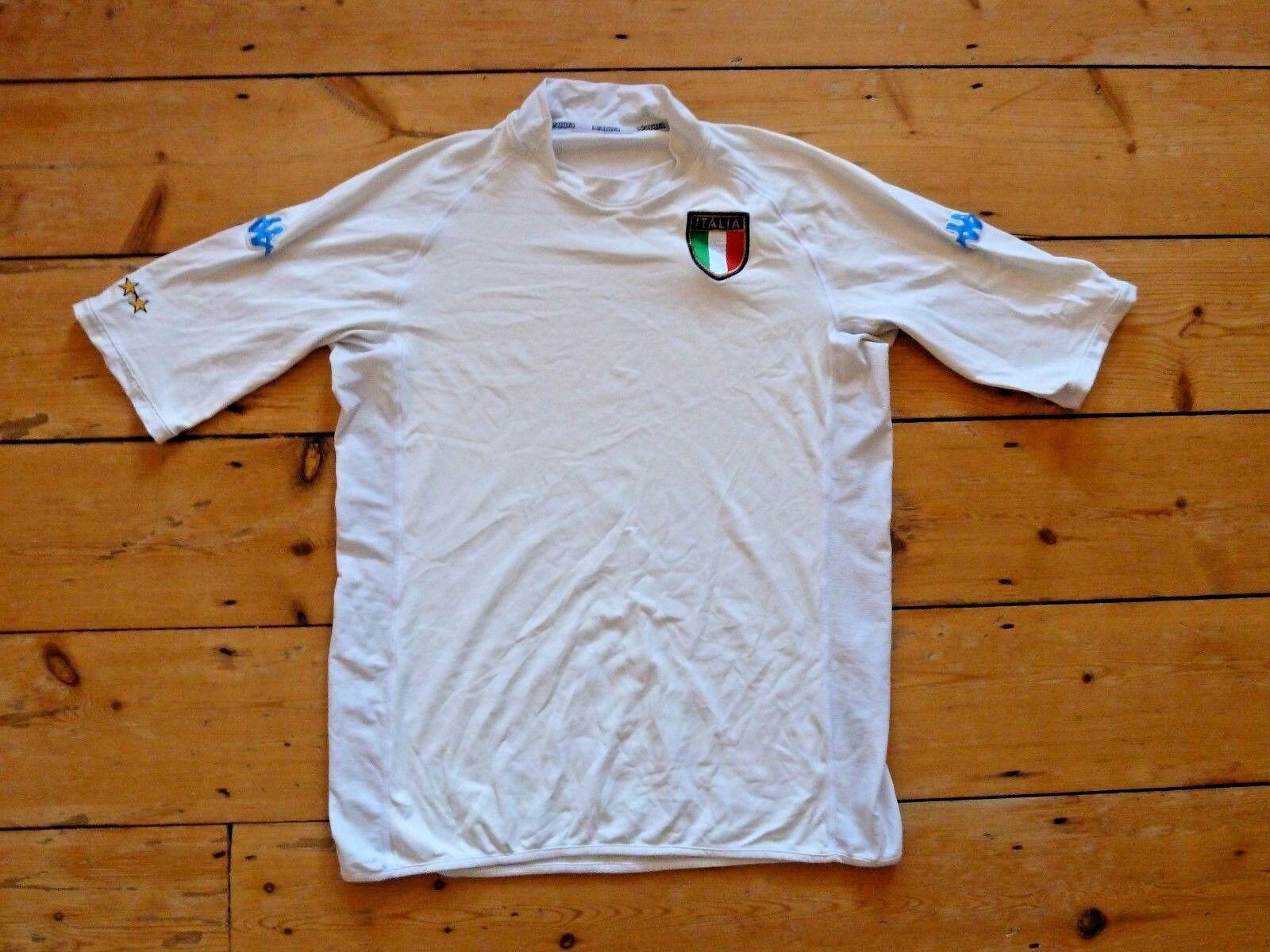 XXXL  ITALY FOOTBALL SHIRT ITALIA 2001 02 Soccer JERSEY CAMISETA MAGLlA TRIKOT