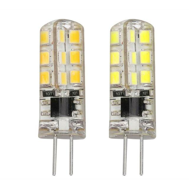 2W 2835SMD G4 Bulb Lamp AC220V-240V Silicone 24LEDs Replace Halogen Light