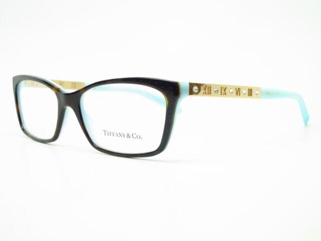 e7807a03f6e Authentic Tiffany   Co TF 2103-B 8134 Havana and Blue Eyeglasses 53mm Rx-