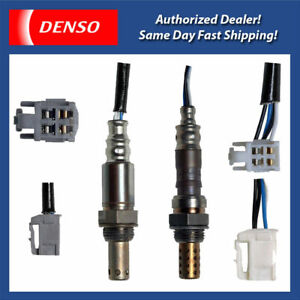 Denso-Oxygen-Sensor-Up-amp-Down-2PCS-for-2004-06-Toyota-Matrix-Corolla-1-8L-2ZZGE
