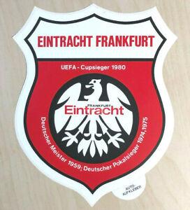 Details Zu Eintracht Frankfurt Aufkleber 21cm Groß Sticker Logo Bundesliga Fussball 2516