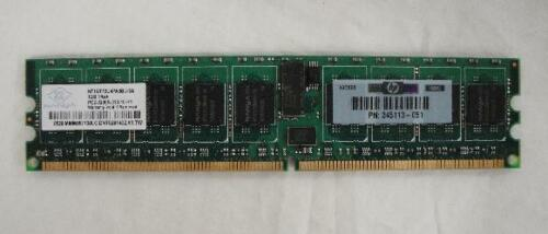 10x 1GB ECC SERVER RAM MEMORY DDR2 400Mhz CL3 PC2-3200R 345113-051 10GB