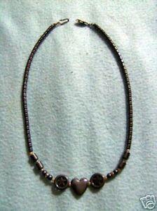 Kette-Haematit-Herz-Sterne-46-5-cm-TOP-Halskette
