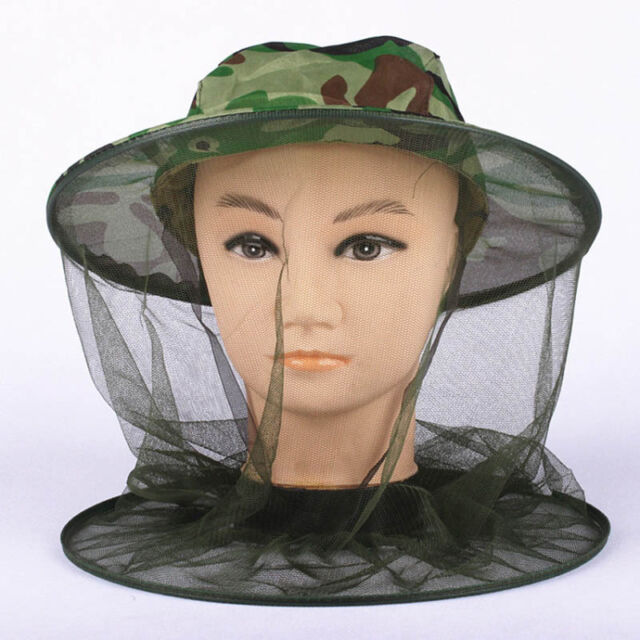 Moskito Insekt Schutz Kopf Hut Netz Kopfnetz Moskitonetz Bienen!