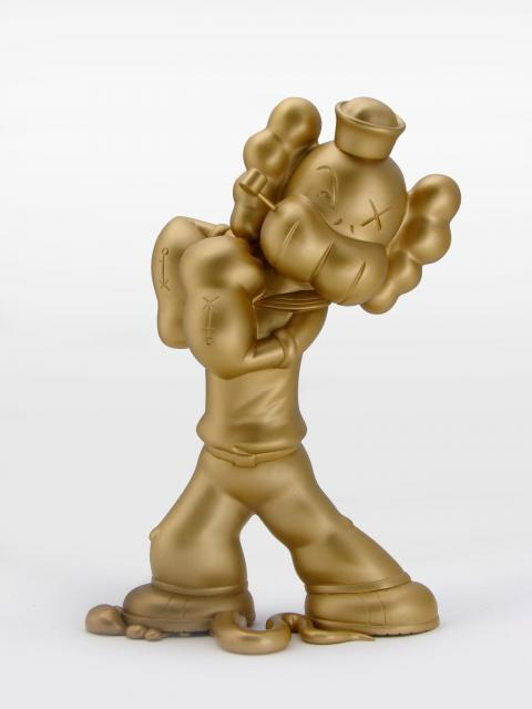 Gold EDITION B-KAWZ VINYL TOY FIGURE NECESSARIES TOY FOUNDATION
