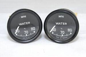 JAGUAR-S1-ETYPE-MK2-daimler-250-380-NEW-RARE-SMITHS-WATER-TEMP-GAUGE-C18640