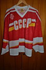 USSR SOVIET UNION NATIONAL TEAM ICE HOCKEY SHIRT JERSEY MAGLIA TACKLA VINTAGE