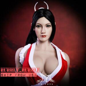 1-6-Mai-Shiranui-Head-Sculpt-The-King-Of-Fighter-For-PHICEN-Female-Figure-USA