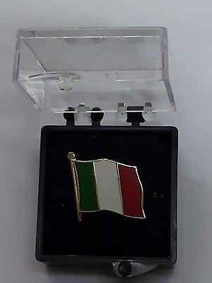Cufflinks-Italia Bandera-Bandera Italiana de vuelo