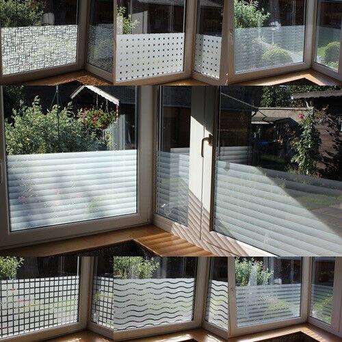 m² Sichtschutzfolie Frosted Fenster Design Folien selbstklebend Milchglas | Zuverlässige Qualität