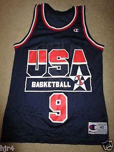 bac46cc35041 Dan Majerle  9 Phoenix Suns US Olympics Basketball Champion Jersey ...