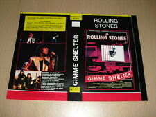 JAQUETTE VHS Gimme Shelter Rolling Stones Tina Turner