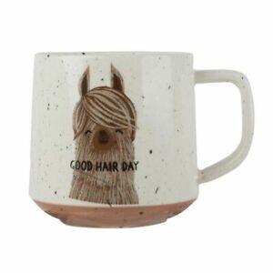 Creativetops-Tasse-Lama-Good-Hair-Day-Bad-Hair-Day-Kaffeetasse-Teetasse-Becher