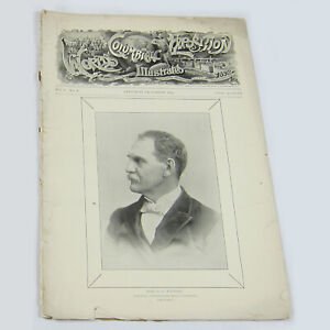 Antique-1891-Worlds-Columbian-Exposition-Illustrated-Journal-Chicago-Worlds-Fair