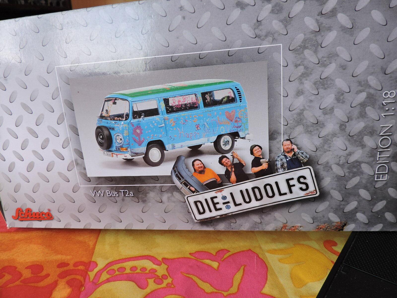 VW Bus Combi T2a Die Ludolfs Schuco 1 18 -  Neuve