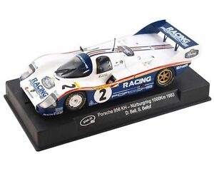 Slot-it-CA09G-Porsche-956KH-Nurburgring-1983-suits-Scalextric-slot-car-track