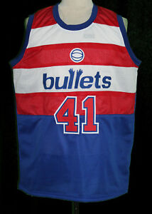 2a6001dbde90 Image is loading WES-UNSELD-BALTIMORE-WASHINGTON-RETRO-BASKETBALL-JERSEY- SEWN-