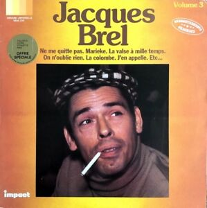 Jacques-Brel-Volume-3-Collection-Impact-Vinyl-LP-33T