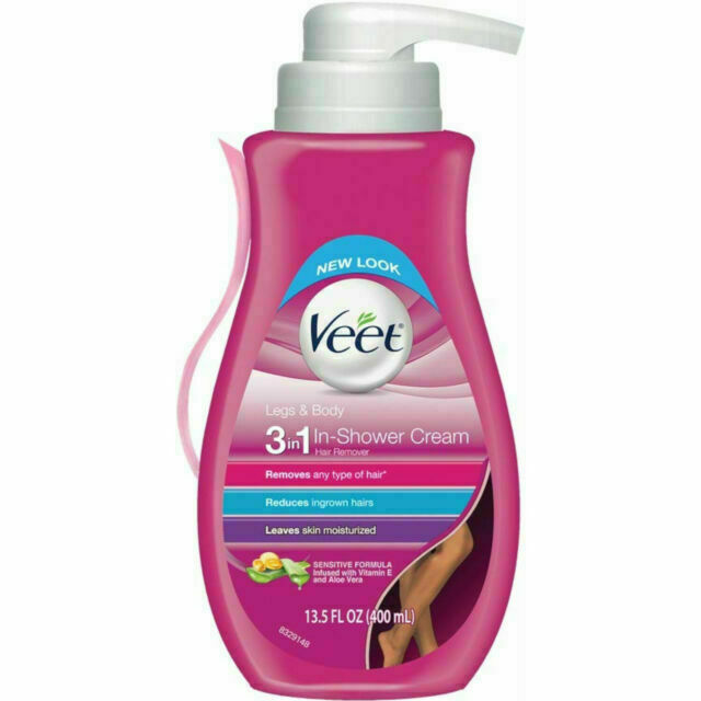 Veet Legs Body 3 In 1 Hair Removal Gel Cream 13 5oz For Sale