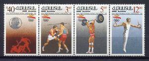 S1068-Armenia-1992-MNH-Olympic-Games-4v