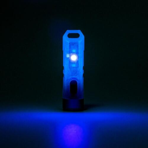 bleu Rovyvon Aurora A7 GITD Keychain 550 Lm Lampe de Poche