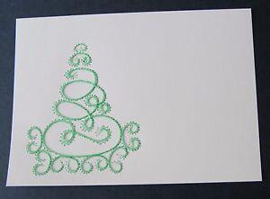 kartenaufleger fadengrafik weihnachten weihnachtsbaum. Black Bedroom Furniture Sets. Home Design Ideas