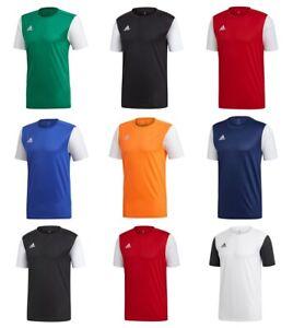 Adidas-Estro-Boys-Football-T-Shirts-Kids-Sports-Training-Soccer-Top-TShirt