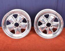 Porsche 911 951 944 Turbo Fuchs 7 X 16 Wheels Chrome Plated